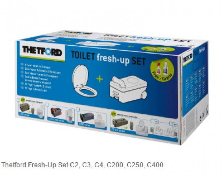 Toilet fresh up Set Fresh up für C 250
