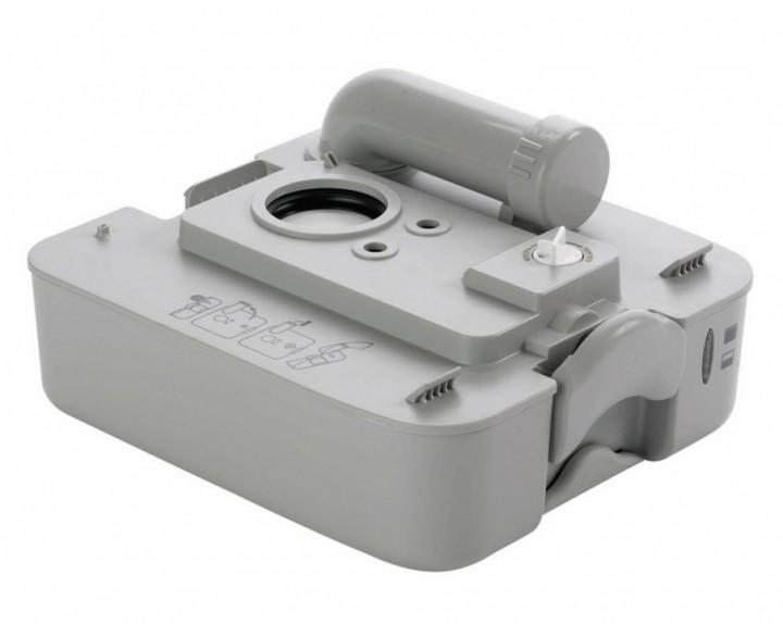 Abwasserbehälter 9,8 l grau für 970er Serie