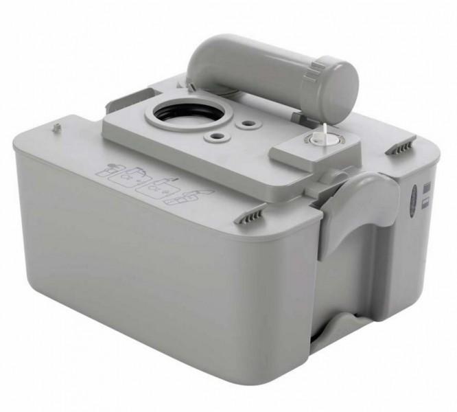 Abwasserbehälter 18,9 l grau für 970er Serie