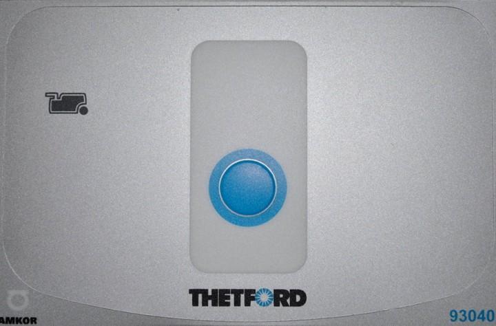 Abdeckung für Bedienelement für Cassettentoilette C262/263 und Keramik