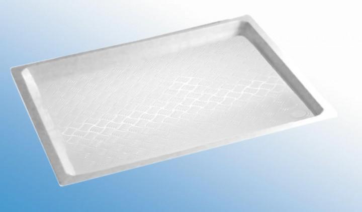Kunststoff-Duschwanne weiß 91,5 x 82 cm
