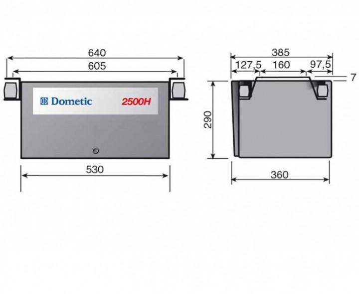 Stromerzeuger Dometic T 2500 H Normalbenzin