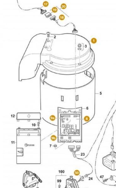 Truma Elektronik für C 4002 (E) ab Fab.Nr. 16300001