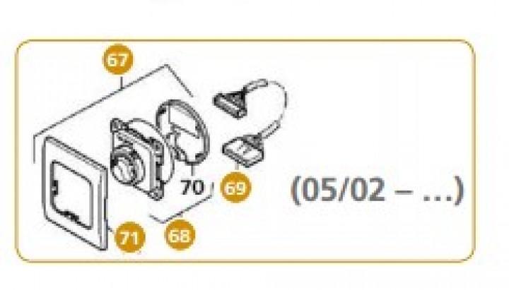 Truma Bedienteil schwarz ab 05/02 für Trumatic E 4000 (A)