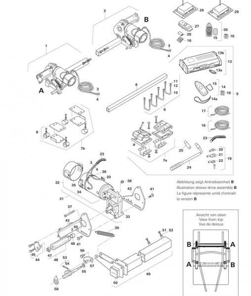 Austauschsteuerungsset M1 für Euromover II und Tandem