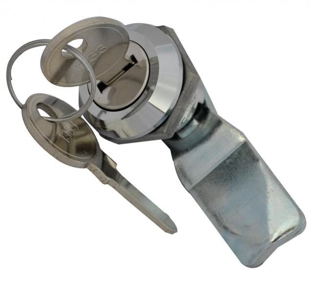 1 Schließzylinder + 2 Schlüssel für Gas-Flaschen-Schrank