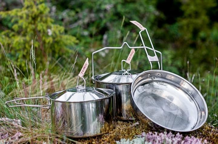 Primus Kochtopfset Campfire Small 4er Set