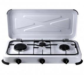 Campingkocher Flame Kocher 3-flammig mit ZS