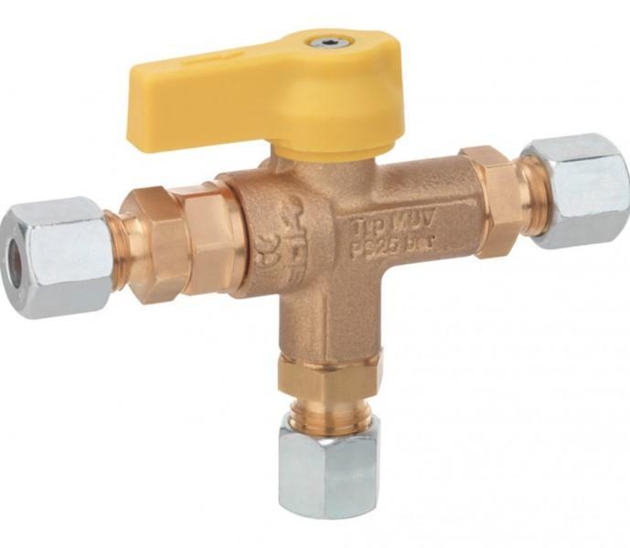 Umschaltventil MUV LPG RVS 10 für Rohrverschraubung