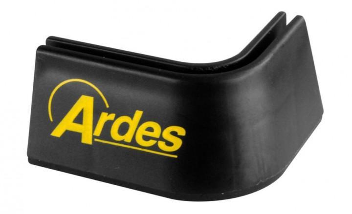 Fuß vorne rechts mit Ardes Logo für Kocher Zeus