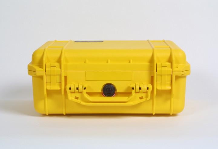 Pelibox 1450 gelb mit Schaumeinsatz
