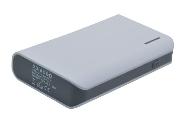 baladéo Powerbank 'Nomade' S 6600