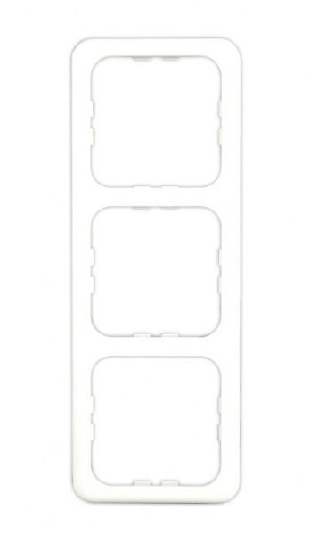 System 10.000 3-fach Rahmen weiß
