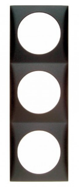 Berker Integro Flow Rahmen 3-fach anthrazit matt