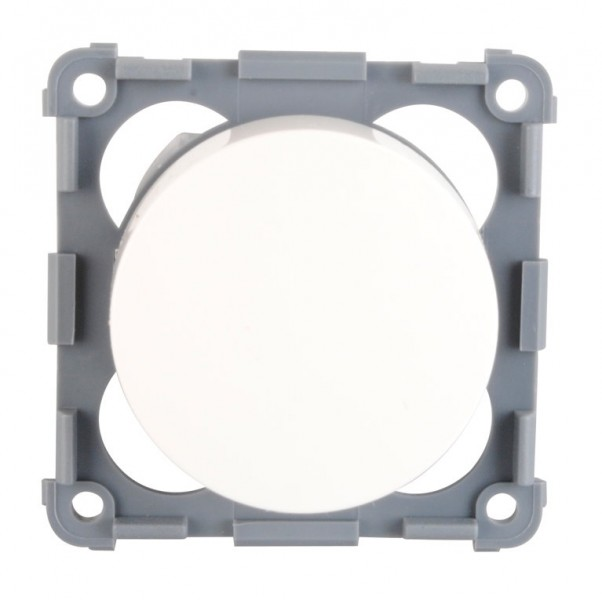 Berker Integro Flow Drehdimmer 12 V weiß glänzend