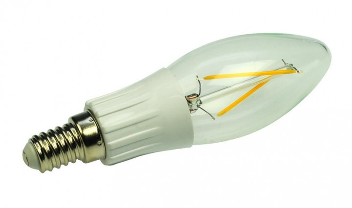 2er LED Kerze Sockel E14 230 Volt