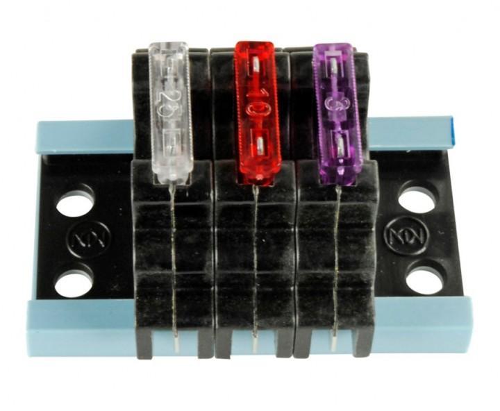 Sicherungshalter FS-3 für Flachsicherungen