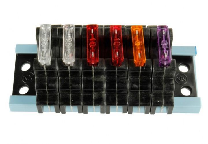 Sicherungshalter FS-6 für Flachsicherungen