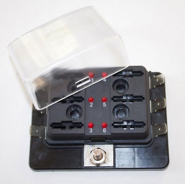 Sicherungshalter 6 FS-LED