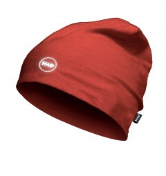 HAD Printed Fleece Beanie 'Red'