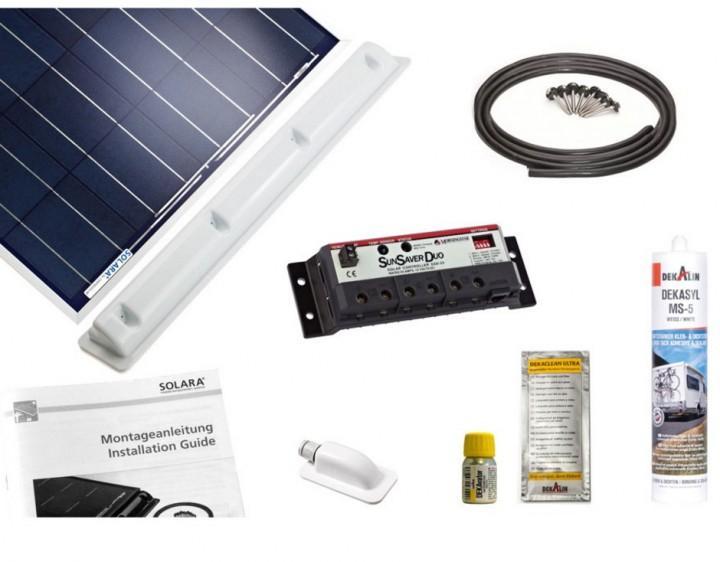 Solara Solaranlage Premium Pack 04/M mit SunSaver