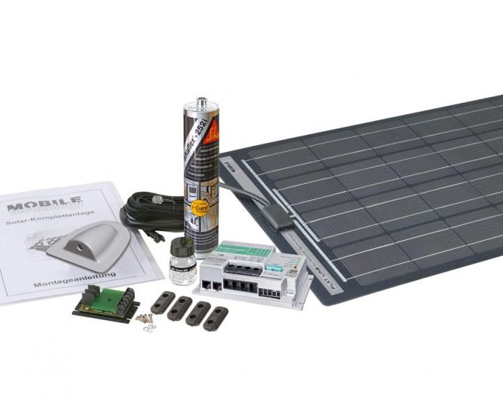 MT 140 FL-2 Flat Line Solar-Komplettanlage