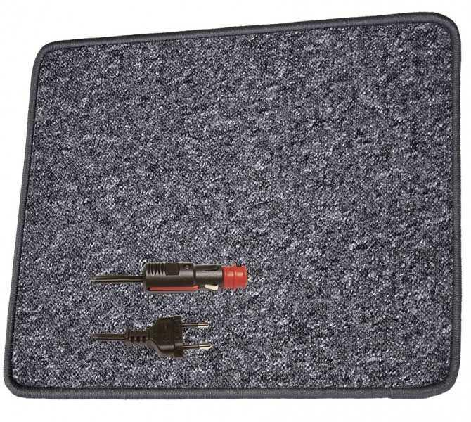 Pro Car Heizteppich 60 x 100 cm anthrazit 230 Volt / 60 Watt