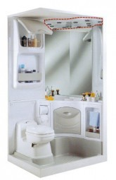 Deckenblende für Sanitäreinrichtung 2000