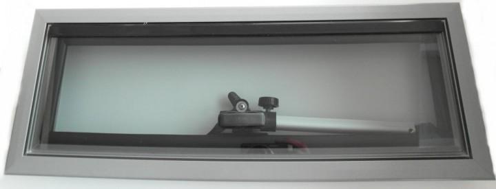 Alu-Ausstellfenster 460x160mm Modell 2000