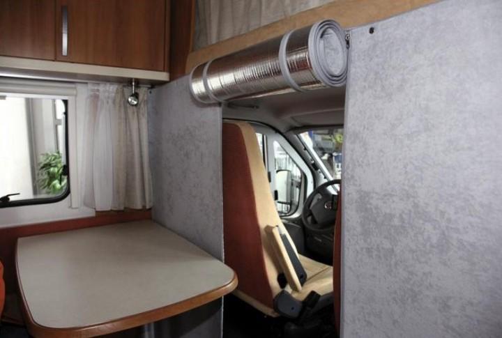 Thermo Trennvorhang für Reisemobile