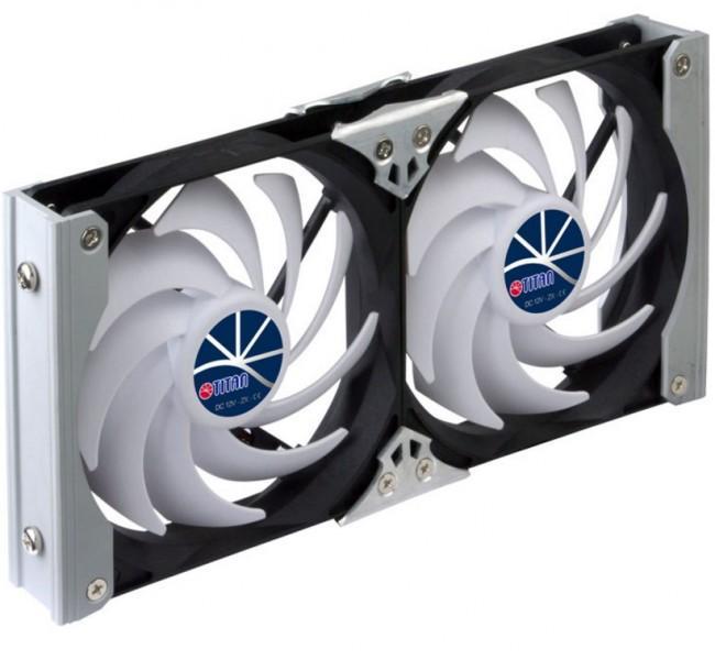 Kühlschrank-Doppellüfter Titan 92 mm