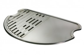 Edelstahl Grillplatte für O-Grill 800T