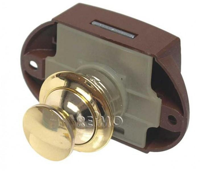 Push Lock von außen zu öffnen gold