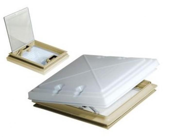 MPK Dachhaube 40 x 40 cm Modell 42 mit Moskitonetz beige