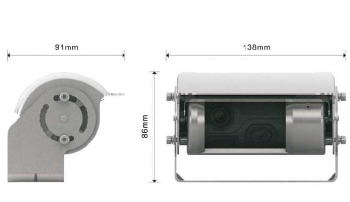 Carbest Profi View 7 mit Doppelkamera