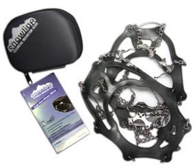 Snowline Schuhketten 'Chainsen Light' Größe XL, 44 - 48, silber