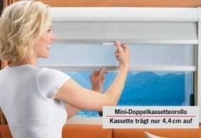 Dometic Seitz Kombikassettenrollo Rastrollo 2000 Sand 930x700 mm