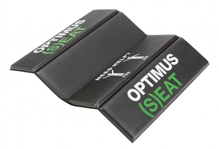 Optimus Falt-Sitzkissen 'Seat' 27,5 x 34 x 1 cm, schwarz