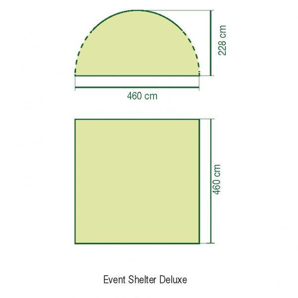 Coleman Event Pavillon deLuxe 4,6 x 4,6 Meter
