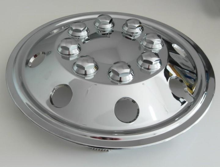 Radzierblenden Chrom 15 Zoll für Fiat Ducato und Sprinter