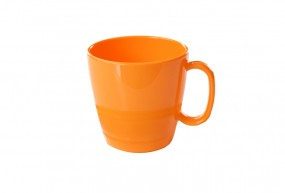Waca PBT Tasse orange, 230 ml