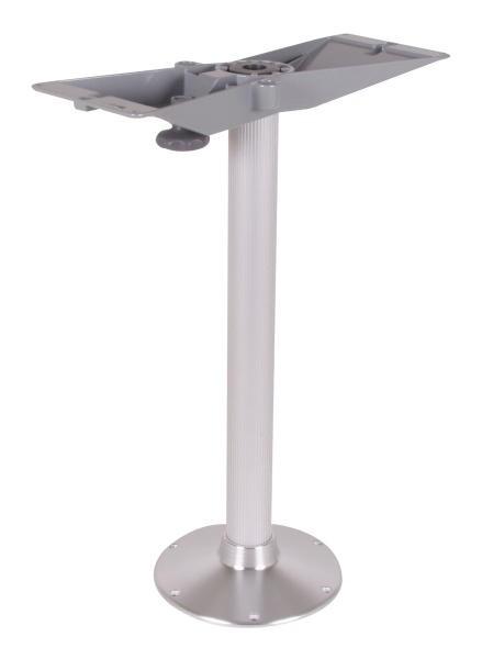 Alu-Tischsäule mit extra Fuß