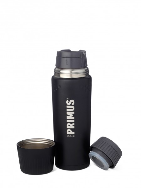 Primus Thermoflasche 'Trailbreak' schwarz, 0,75 L