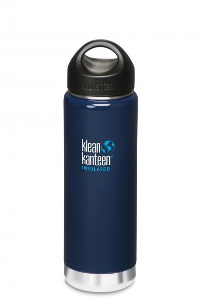 Klean Kanteen Flasche 'Insulated' blau, 0,592 L