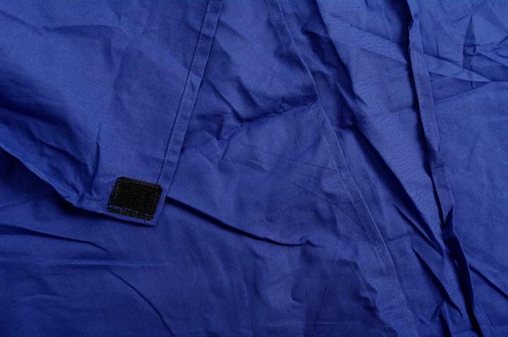 Basic Nature Baumwollinlett Mumienform royalblau