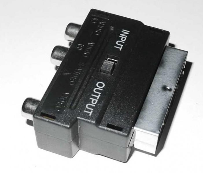 Scart-Stecker für Chinch-Kabel