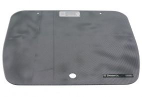Glasabdeckung Punktmuster schwarz für Cramer-Kocher und -Spülen EK 2000 60 x 44,5 cm