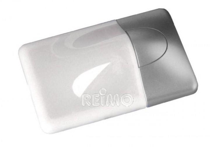 LED-Aufbauleuchte Magma silber
