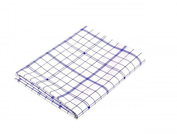 Relags 'Trockentuch', blaukariert 50 x 57 cm