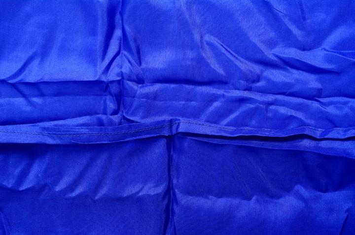 Basic Nature Seideninlett Deckenform royalblau